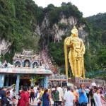 Malezija Vhod v Bato Caves