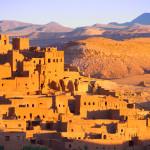 Puščavsko mesto v Maroku